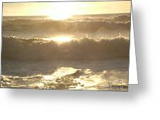 Ocean Meditation Greeting Card