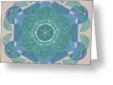 Ocean Metatron Greeting Card