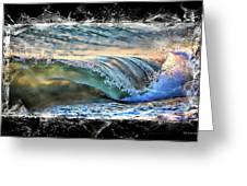 Ocean Motion Greeting Card