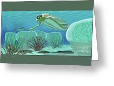 Ocean Opabinia Greeting Card