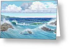 Ocean Pyramid Greeting Card