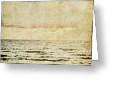 Ocean Scene Greeting Card