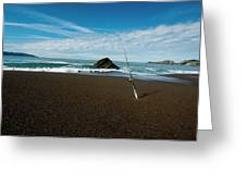 Ocean Side Lunch - San Francisco Bay Greeting Card