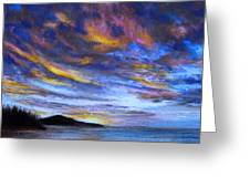 Ocean Sky Greeting Card