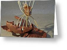 Ocean Spider Greeting Card by Ruth Edward Anderson