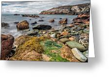 Ocean Stones Greeting Card