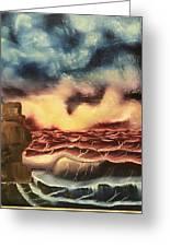 Ocean Storm Greeting Card