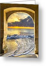 Ocean View Greeting Card