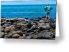 Ocean Watch Greeting Card