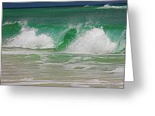 Ocean Wave 3 Greeting Card
