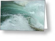 Ocean Wave 4 Greeting Card