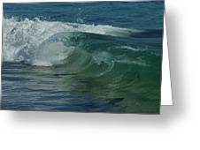 Ocean Wave 5 Greeting Card