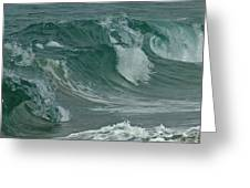 Ocean Waves 2 Greeting Card