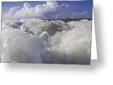 Ocean Waves Comin' At You Greeting Card