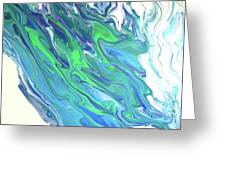 Ocean Waves Greeting Card