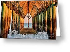 Ocean Window Greeting Card