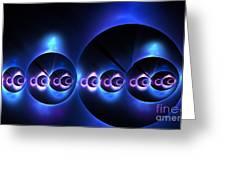 Oceanic Spheres Greeting Card