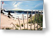 Oceans Breez Greeting Card by Susan Roberts