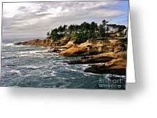 Oceanside - Depoe Bay Greeting Card