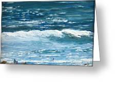 Oceanside 3 O'clock Greeting Card