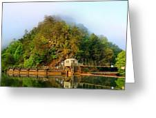 Ocoee Dam 2 Greeting Card