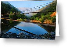 Ocoee Dam 3 Greeting Card