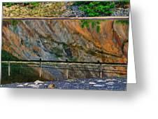 Ocoee Dam Reflection Greeting Card