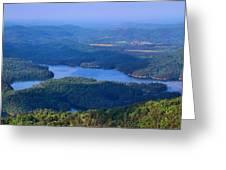 Ocoee Lake Greeting Card