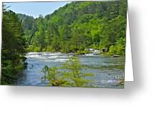 Ocoee River Greeting Card