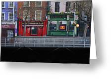 Oconnells Pub And The Batchelor Inn - Dublin Ireland Greeting Card