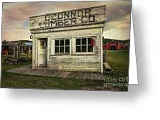 O'connor Lumber Co Greeting Card