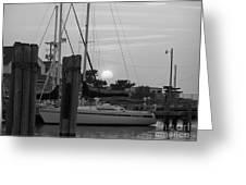 Ocracoke Sunset  Greeting Card