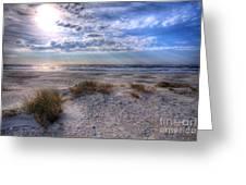 Ocracoke Winter Dunes II Greeting Card by Dan Carmichael