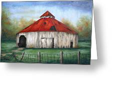 Octagen Barn Greeting Card