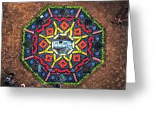 Octagon Greeting Card by James Billings