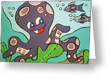 Octo #1 Greeting Card