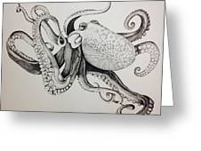 Octo Greeting Card
