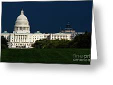 October Capitol Greeting Card