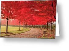 October Dream Greeting Card