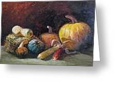 October Harvest Greeting Card