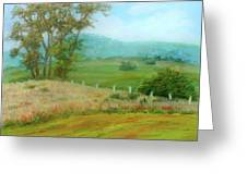 October Hills In Middletown Md Greeting Card