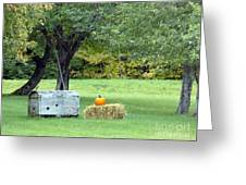 October In Maine Greeting Card