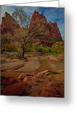 October In Zion Greeting Card