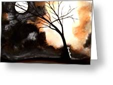 October Night 4 Greeting Card