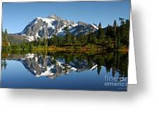 October Reflection Greeting Card by Winston Rockwell