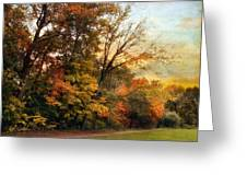 October Trail Greeting Card