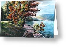 October Visiting Stanley Park Bc Greeting Card