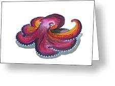 Octopus Dance Greeting Card