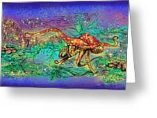Octopus Garden Greeting Card