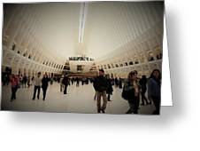 Oculus Made In New York  Greeting Card